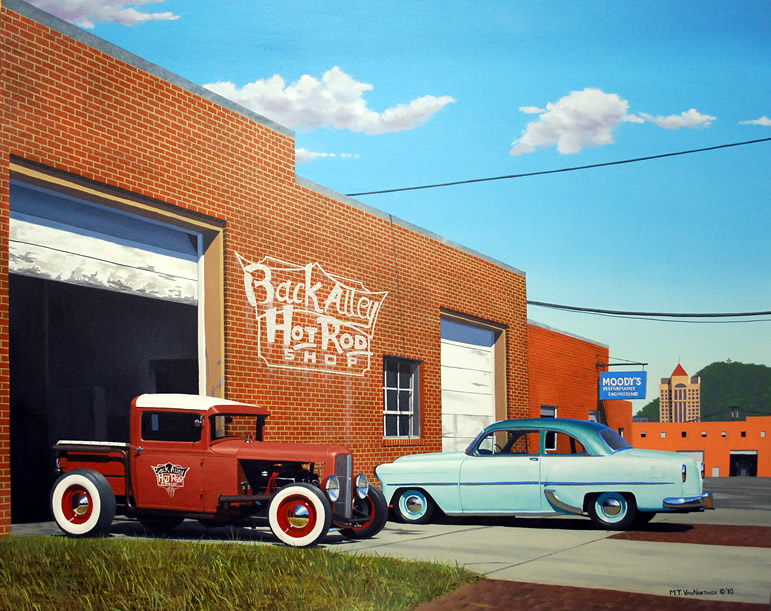 136 Back Alley Hot Rod Shop