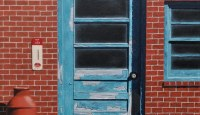 #221 'Turquoise Door'